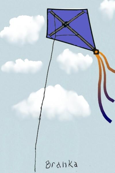 flying high in the clouds | Rhonda | Digital Drawing | PENUP