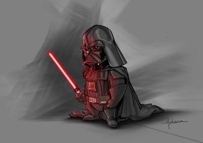 Cartoony Vader | Hunger_art | Digital Drawing | PENUP