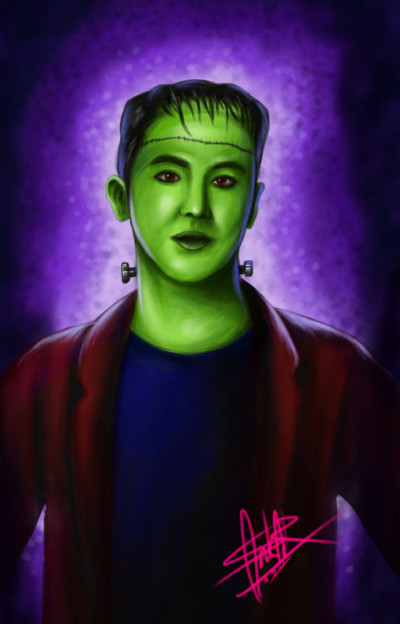 Halloween_Yunho | FirstNote4 | Digital Drawing | PENUP