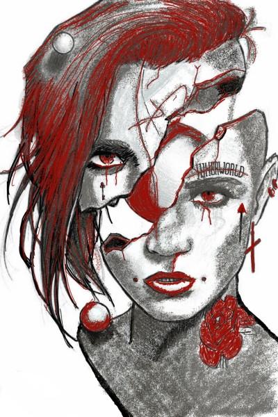 splitting head ache | dusty | Digital Drawing | PENUP