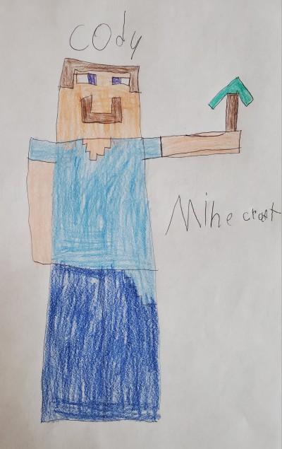 Drawing By My 11 Year Old , Cody   Tonda   Digital Drawing   PENUP