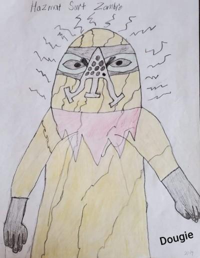 Hazmat Suit Zombie | Dougie | Digital Drawing | PENUP