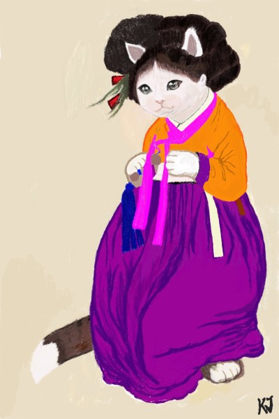 조신한묘인?^^   K.jin   Digital Drawing   PENUP