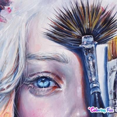 Half Of A Portrait | bohemian_anqel | Digital Drawing | PENUP