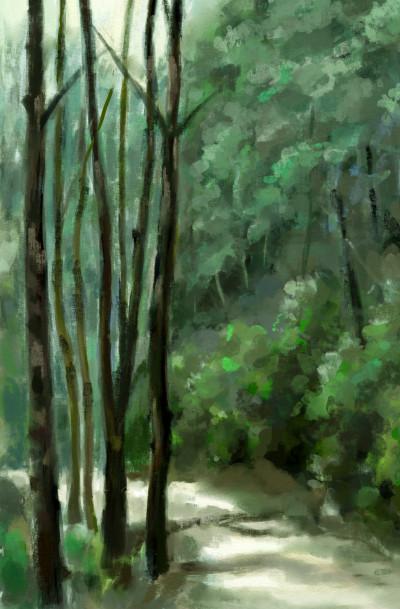 Landscape Digital Drawing   koo   PENUP