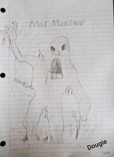 Mud Monster | Dougie | Digital Drawing | PENUP