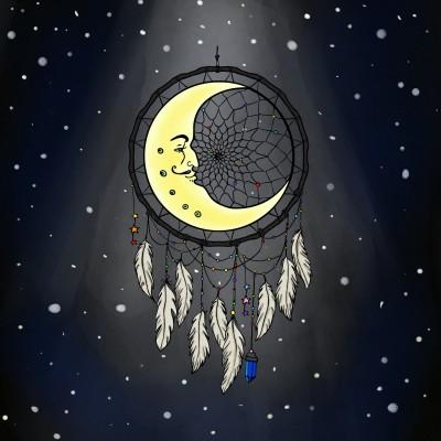 moon catcher   Zenovia   Digital Drawing   PENUP