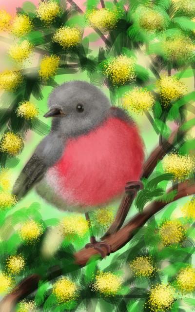 small birdie  | FatemaMusharrof | Digital Drawing | PENUP