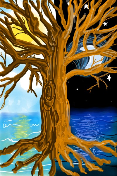 worldTree | artNstillLife | Digital Drawing | PENUP