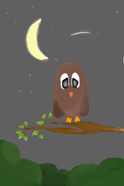 little owls night  | Dani0310 | Digital Drawing | PENUP