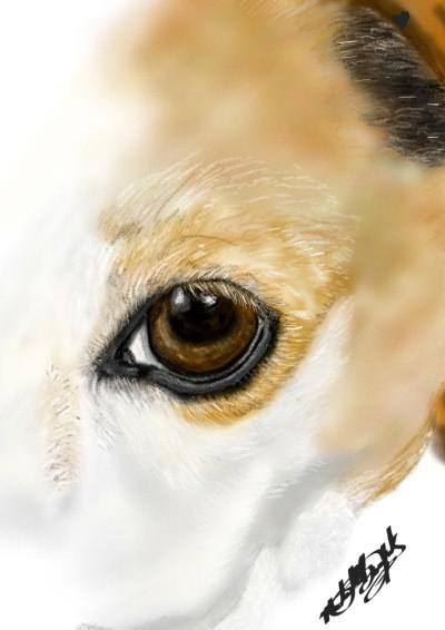 Abbey Rose's eye,  | mburdick | Digital Drawing | PENUP
