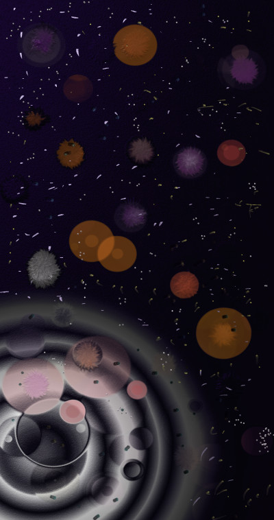 Space | jjbinksljg2 | Digital Drawing | PENUP