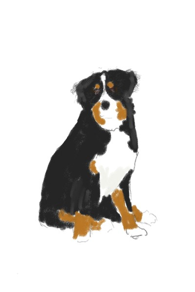 doggy  | ace | Digital Drawing | PENUP