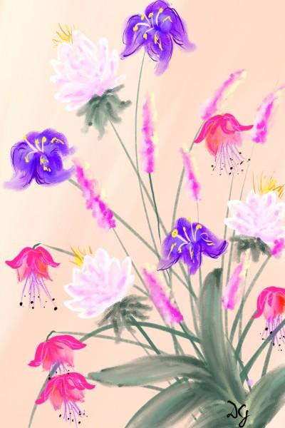 full of colour | Damirijana | Digital Drawing | PENUP