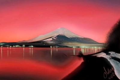 Mont fuji | artgraphit | Digital Drawing | PENUP