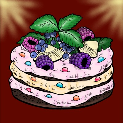 cake | Idea | Digital Drawing | PENUP