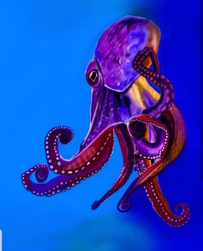 octopus  | Lor-Van | Digital Drawing | PENUP