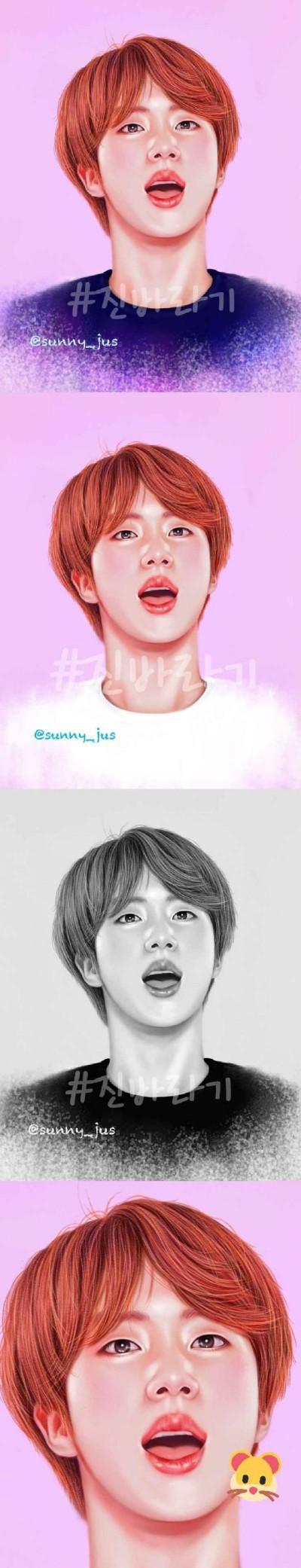 석진이~♡ | Sunny-jus | Digital Drawing | PENUP