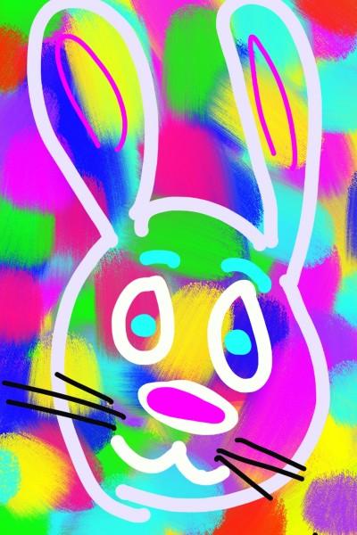 Bunny  | Morejon | Digital Drawing | PENUP