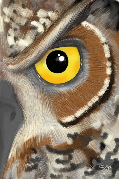 Golden Eye (Edited older work) | shadowmare72 | Digital Drawing | PENUP