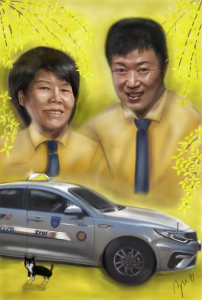 Taxi  Driver/택시 기사님 | azu | Digital Drawing | PENUP
