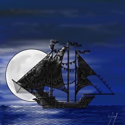 Moonlight | Marmarovas | Digital Drawing | PENUP