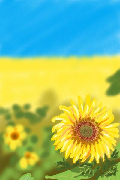 Sunflowers   AntoineKhanji   Digital Drawing   PENUP