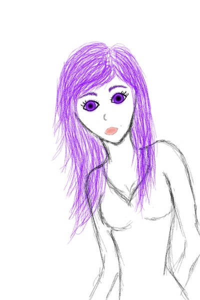 bad at doing complete faces -.-'    lilasmurf   Digital Drawing   PENUP