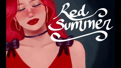 """Red Summer"" A Red Velvet Art Film | mgtxs | Digital Drawing | PENUP"