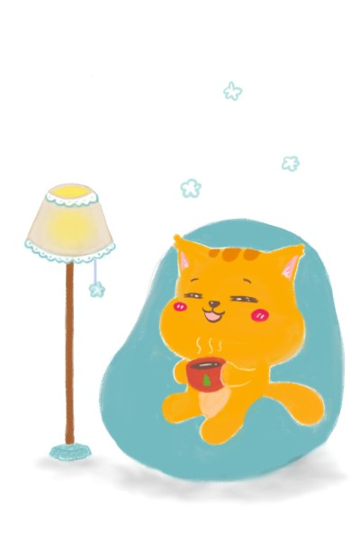 Orenji Favorite Chair | Orenjineko | Digital Drawing | PENUP