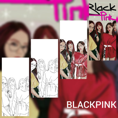 BLACKPİNK  | -aksoy- | Digital Drawing | PENUP