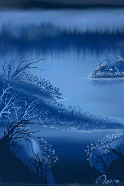 황혼에서 새벽까지 | Dex.R | Digital Drawing | PENUP