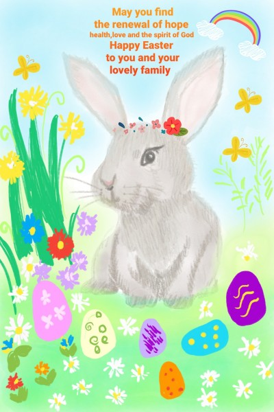 Happy easter sunday | Ivonne | Digital Drawing | PENUP