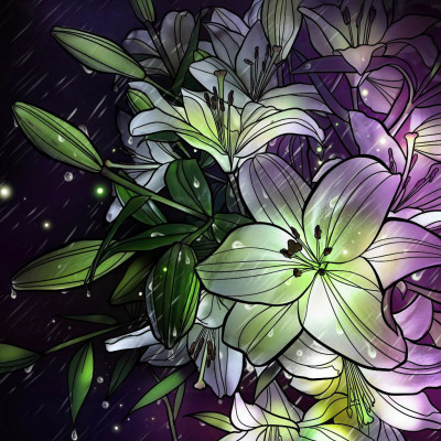 flowers for Easter | Chris | Digital Drawing | PENUP
