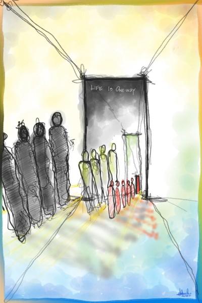 Life is one-way | polo.ahmad | Digital Drawing | PENUP