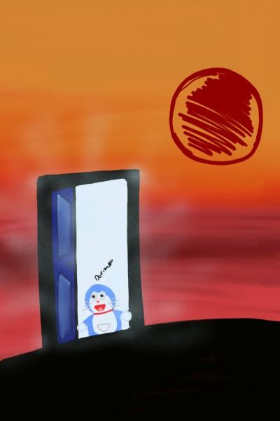 dorimon's door !! | DETECTIVE_salma | Digital Drawing | PENUP
