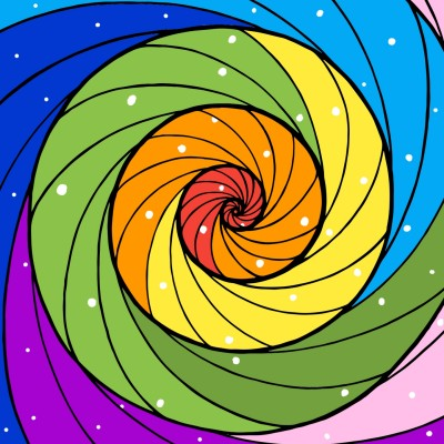 Rainbow  | minji | Digital Drawing | PENUP