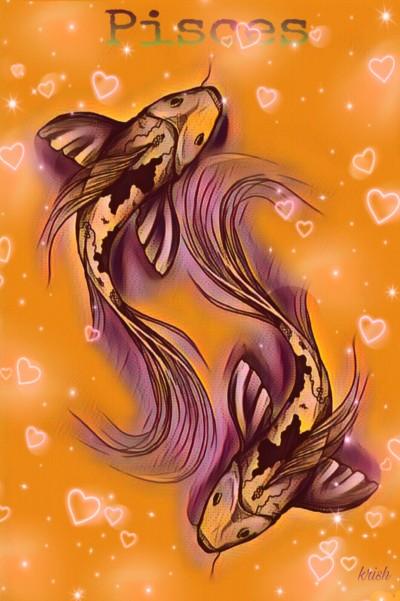 Pisces ♡ Zodiac sign ♡  Born Feb 19 _ Mar 20 | krish | Digital Drawing | PENUP