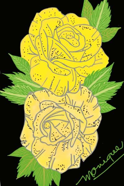 Yellow Roses | monique | Digital Drawing | PENUP