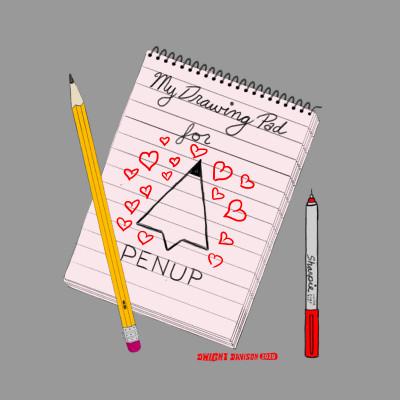My Penup Pad | Dwight | Digital Drawing | PENUP