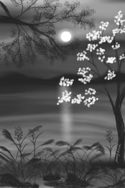 51.달밤 moonlight.   youngsook   Digital Drawing   PENUP