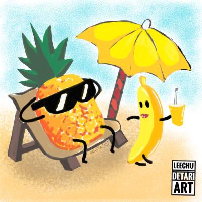 Let's Sunbathe | leechu99 | Digital Drawing | PENUP