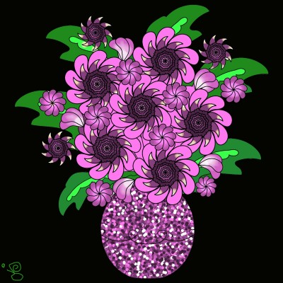 Beautiful Flowers   Jules   Digital Drawing   PENUP