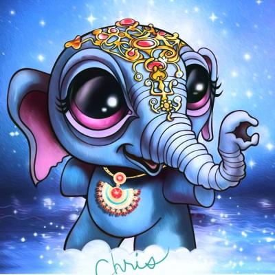 Dumbo | Chris | Digital Drawing | PENUP