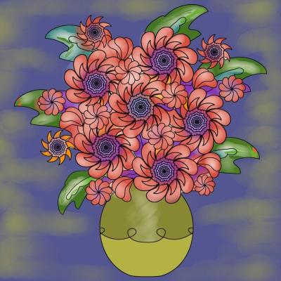 Flowers ☆☆ | regina | Digital Drawing | PENUP