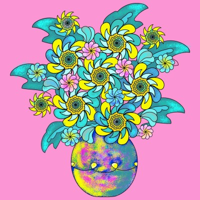 Flowers  | vaniaania | Digital Drawing | PENUP