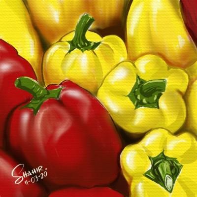 yellow capsicum | shahir | Digital Drawing | PENUP