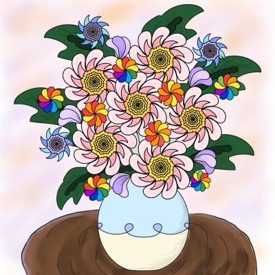 Coloring Digital Drawing | booorammuu | PENUP