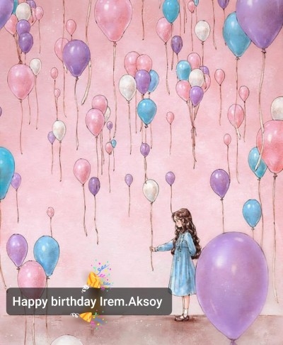 ♡Happy birthday Irem.Aksoy♡ | A.F | Digital Drawing | PENUP