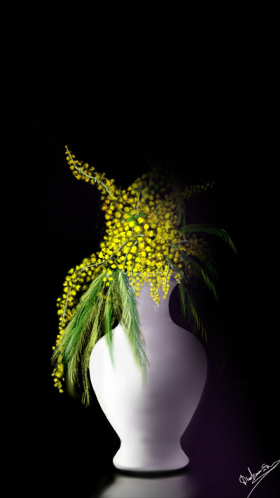 Yellow from the dark  | Abex | Digital Drawing | PENUP